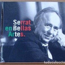 CDs de Música: SERRAT - EN BELLAS ARTES (CD) 2015 - 16 TEMAS. Lote 98593435