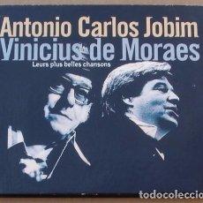 CDs de Música: ANTONIO CARLOS JOBIM- VINICUS DE MORAES - LEURS PLUS BELLES CHANSONS (2CD) 2000 - DIGIPACK - 28 TEMA. Lote 98593591