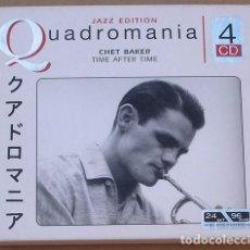 CDs de Música: CHET BAKER - TIME AFTER TIME (4 CD) 2005 -. Lote 98594407