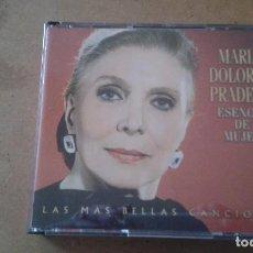 CDs de Música: MARIA DOLORES PRADERA ESENCIA DE MUJER. Lote 98610023