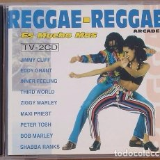 CDs de Música: REGGAE REGGAE ES MUCHO MAS - (2CD) 1993 - 23 TEMAS - PETER TOSH, MARLEY, CLIFF, GRANT, THIRD WORLD,.. Lote 98610091