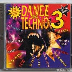 CDs de Música: CD - DANCE & TECHNO 3 - BARCELONA URBAN SOUND - 1994 (2 DISCOS). Lote 98652271