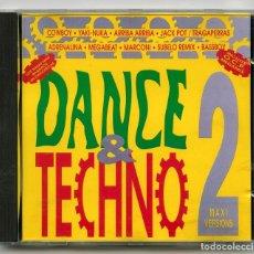CDs de Música: CD - DANCE & TECHNO 2 - BARCELONA URBAN SOUND - 1993 (2 DISCOS). Lote 98652535
