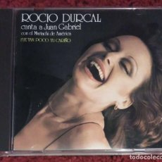 CDs de Música: ROCIO DURCAL (CANTA A JUAN GABRIEL CON EL MARIACHI DE AMERICA) CD 1988. Lote 98673791