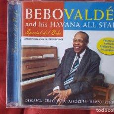 CDs de Música: BEBO VALDES AND FIS HAVANA ALL STARS. Lote 98683787