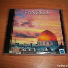CDs de Música: VANGELIS SALUT JERUSALEM CD. Lote 121429150