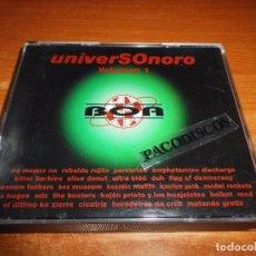CDs de Música: UNIVERSONORO VOLUMEN 1 DOBLE CD DEL AÑO 1995 M.C.D. ALICIA DONUT KOMIC MUFFIN LOS BUGES 2 CD. Lote 98714623
