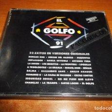 CDs de Música: EL GOLFO 91 DOBLE CD DEL AÑO 1991 DUNCAN DHU HEROES DEL SILENCIO LA TRAMPA LA DAMA SE ESCONDE 2 CD. Lote 98714855