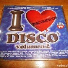 CDs de Música: I LOVE DISCO VOLUMEN 2 CD MAXI SINGLE PROMO EP 1999 GARY LOW ROCKWELL MICHAEL JACKSON TIENE 7 TEMAS. Lote 98715675