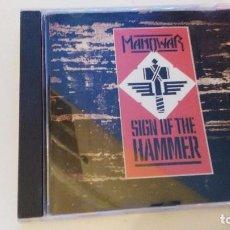 CDs de Música: MANOWAR SIGN OF THE HAMMER CD. Lote 98717383