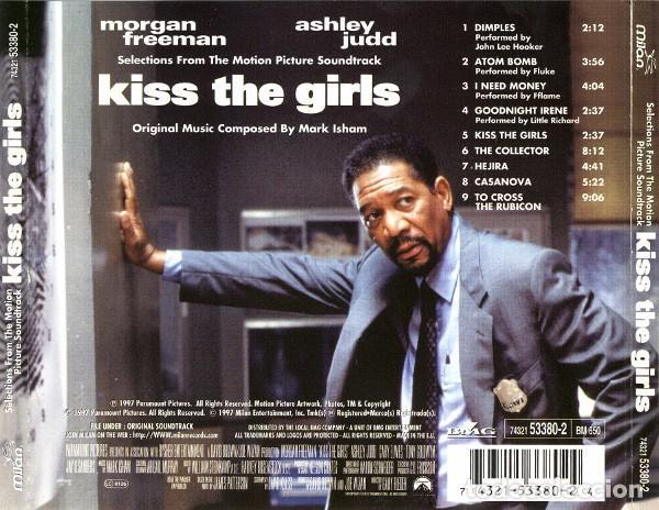 CDs de Música: KISS THE GIRLS / Mark Isham CD BSO - Foto 2 - 98723659