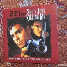 CDs de Música: Z Z TOP- MAXI-CD- TITULO SHE'S JUST KILLING ME-DE B.S.O.FRON DUSK TILL DAWN- CON 2 TEMAS- DEL 96. Lote 98723919