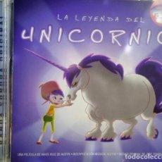 CDs de Música: LA LEYENDA DEL UNICORNIO / JOSÉ TOMÁS SOUSA CD BSO . Lote 98724159
