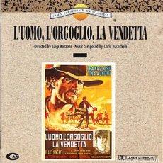 CDs de Música: L'UOMO, L'ORGOGLIO, LA VENDETTA / CARLO RUSTICHELLI CD BSO. Lote 98725399