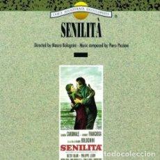CDs de Música: SENILITÁ / PIERO PICCIONI CD BSO. Lote 98725491