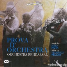 CDs de Música: PROVA D'ORCHESTRA / NINO ROTA CD BSO. Lote 98725743