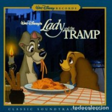 CDs de Música: LADY AND THE TRAMP / OLIVER WALLACE, SONNY BURKE, PEGGY LEE CD BSO. Lote 98726659