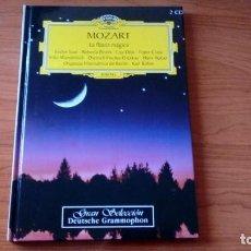 CDs de Música: LIBRO CON 2 CDS - MOZART . LA FLAUTA MÁGICA. Lote 98759767