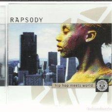 CDs de Música: RAPSODY - HIP HOP MEETS WORLD - CD MERCURY 2000. Lote 98759887