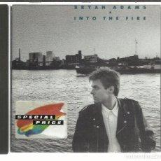 CDs de Música: BRYAN ADAMS - INTO THE FIRE (1987) - CD A&M. Lote 98760623