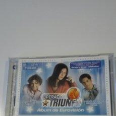 CDs de Música: OPERACION TRIUNFO , ALBUM EUROVISION. Lote 98760990
