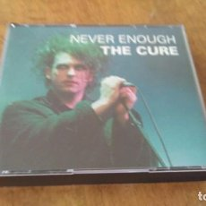 CDs de Música: THE CURE , NEVER ENOUGH , DOBLE CD LIVE IN LEYSIN 6 JULY 1991 . Lote 98769975