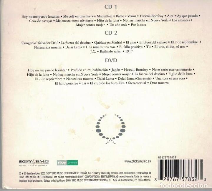 Mecano-grandes exitos-2 cd + dvd-tapas carton d - Sold through