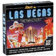 CDs de Música: STARS IN LAS VEGAS * 10 CD WALLET BOX * 200 TRACKS!! * CAJA PRECINTADA!!. Lote 104563574