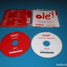 CDs de Música: RADIOLE ... ALEGRATE ! - 2 CD - 2007 UNIVERSAL MUSIC - EL BARRIO - OJOS DE BRUJO - MANZANITA .... Lote 98811031