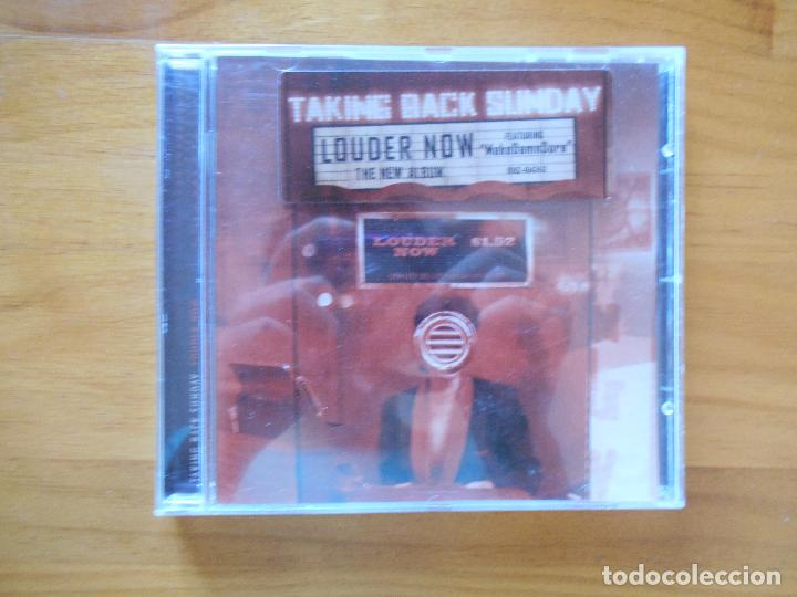 CD TAKING BACK SUNDAY - LOUDER NOW (3K) (Música - CD's Rock)