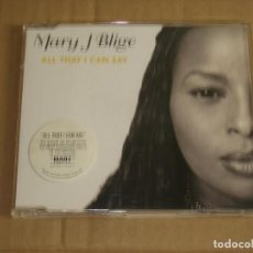 CDs de Música: MARY J. BLIGE - ALL THAT I CAN SAY (3 CANCIONES) __ CD SINGLE. Lote 98935807