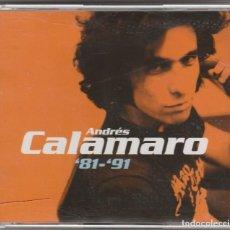 CDs de Música: ANDRES CALAMARO - '81 - '91 (DOBLE CD + DVD UNIVERSAL 2001). Lote 98949167