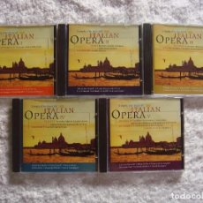 CDs de Música: CD - LOTE 5 CD - SIMPLY THE BEST OF ITALIAN OPERA - VARIOS COMPOSITORES. Lote 98973823