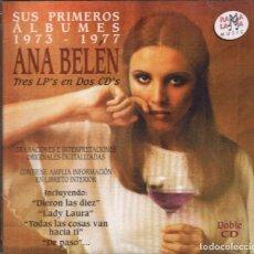 CDs de Música: ANA BELEN - SUS PRIMEROS ALBUMES 1973-1977- 2 CDS DE 1998 RF-1628 , PERFECTO ESTADO. Lote 99049535