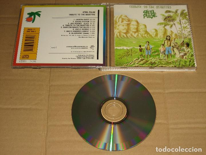 STEEL PULSE - TRIBUTE TO THE MARTYRS (RRCD 17) REEDICIÓN __ CD (Música - CD's Reggae)