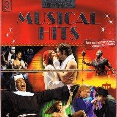 CDs de Música: TEH BEST OF MUSICAL HITS ( 3 CD). Lote 99270511