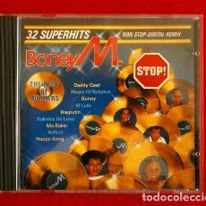 CDs de Música: BONEY M. (CD. 1986) 32 SUPERHITS - THE BEST OF 10 YEAR -DADDY COOL, BABYLON, MA BAKER, BELFAST,SUNNY. Lote 99273807