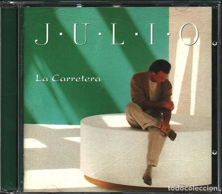 MUSICA GOYO - CD ALBUM - JULIO IGLESIAS - LA CARRETERA - - - *AA98 (Música - CD's Latina)