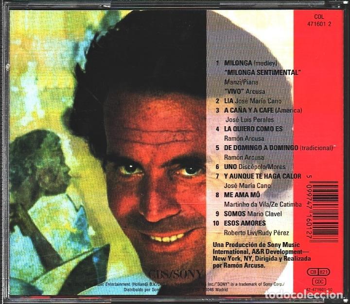 CDs de Música: MUSICA GOYO - CD ALBUM - JULIO IGLESIAS - CALOR - - - *AA98 - Foto 2 - 99289795