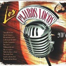 CDs de Música: MUSICA GOYO - CD ALBUM - LOS PAJAROS LOCOS - ROCK EN ESPAÑOL -DOBLE - - *AA99. Lote 99290691