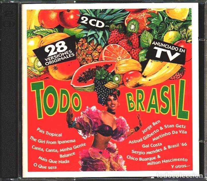 MUSICA GOYO - CD ALBUM - TODO BRASIL - LO MEJOR DE BRASIL - 2 CD - - *AA98 (Música - CD's Latina)