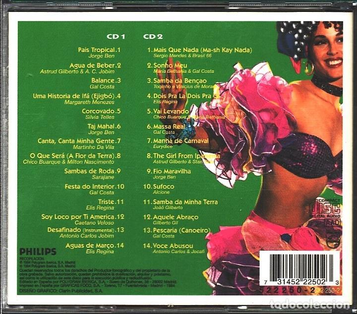 CDs de Música: MUSICA GOYO - CD ALBUM - TODO BRASIL - LO MEJOR DE BRASIL - 2 CD - - *AA98 - Foto 2 - 99291019