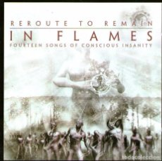 CDs de Música: IN FLAMES - REROUTE TO REMAIN - CD ALBUM - 14 TRACKS - NUCLEAR BLAST 2002. Lote 99350795