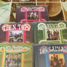 CDs de Música: LEYENDAS DEL POP-LOS SALVAJES LOS MUSTANG TEEN TOPS ETC-5 CD-PRECINTADOS NUEVOS-2016. Lote 99355674