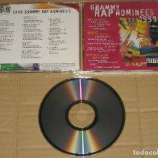 CDs de Música: 1999 GRAMMY RAP NOMINEES (7559-62380-2). Lote 99361183