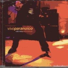 CDs de Música: RATONES PARANOICOS / VIVO PARANOICO (CD PRECINTADO). Lote 99363835