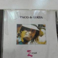 CDs de Música: PACO DE LUCIA ZYRYAB 990. Lote 99380827