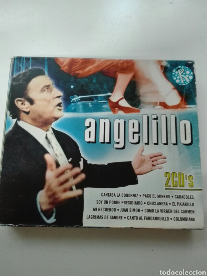 CDs de Música: Angelillo 2 CDs - Foto 1 - 99382224