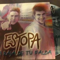 CDs de Música: ESTOPA CD SINGLE 1 TEMA LA RAJA DE TU FALDA / ESTOPA. CARTON + 4 € ENVIO C.N.. Lote 99393646