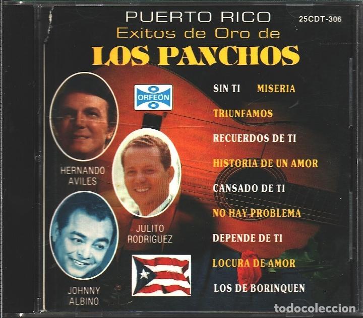 MUSICA GOYO - CD - TRIO LOS PANCHOS - AVILES, RGUEZ Y ALBINO CON EL TRIO SAN JUAN - RARO - - *AA98 (Música - CD's Latina)